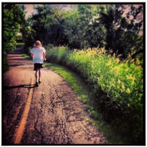 """Mom, I want to run a half marathon!"""