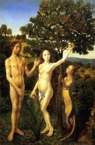 The Fall of Adam by Hugo Van Der Goes